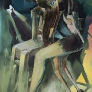 blendermainstreaming 180x130cm oil on canvas 2013