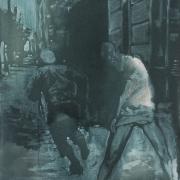 gleich Zeit 2014 80x60cm oil canvas 2700e